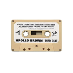 <!--020140527063212-->Apollo Brown - 'Thirty Eight' [(Cream) Cassette Tape]
