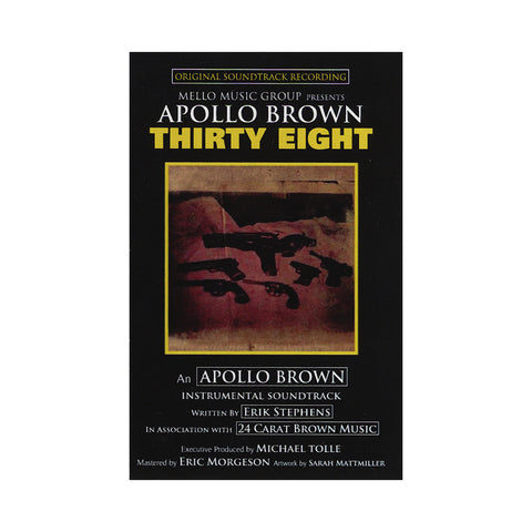 "[""Apollo Brown - 'Thirty Eight' [(Cream) Cassette Tape]""]"