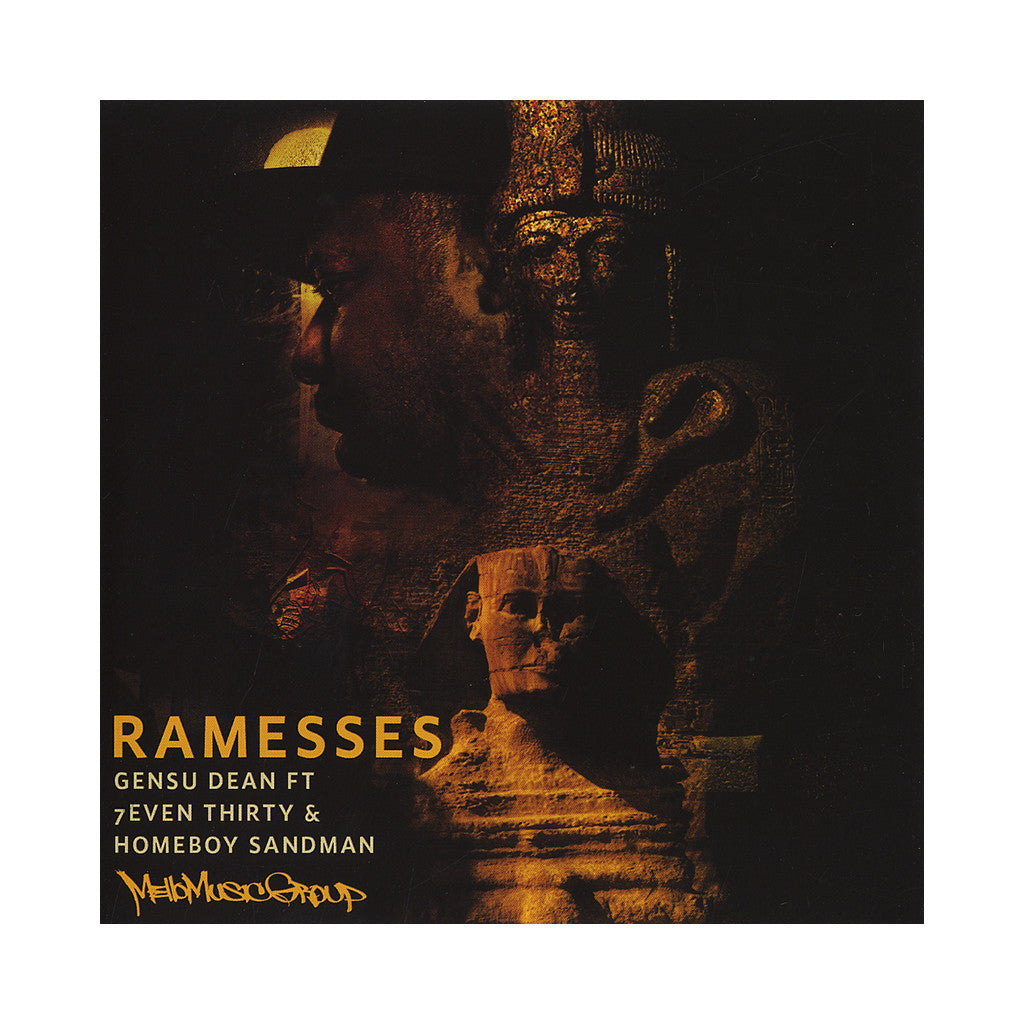"<!--020120814046039-->Gensu Dean - 'Ramesses/ Wantchu' [(Black) 7"" Vinyl Single]"