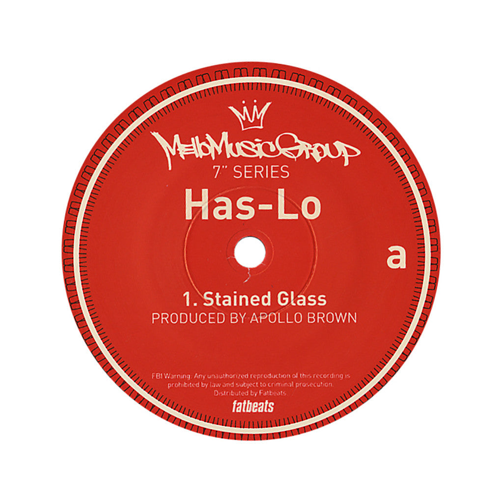 "<!--020120731045155-->Has-Lo - 'Stained Glass/ Make A Bet' [(Black) 7"" Vinyl Single]"