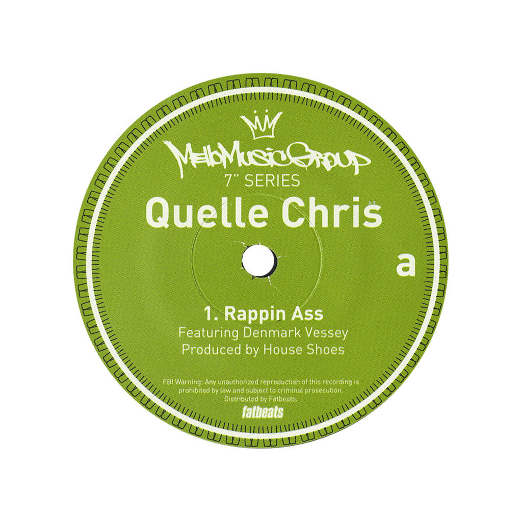 <!--2013012742-->Quelle Chris - 'Rappin Ass' [Streaming Audio]