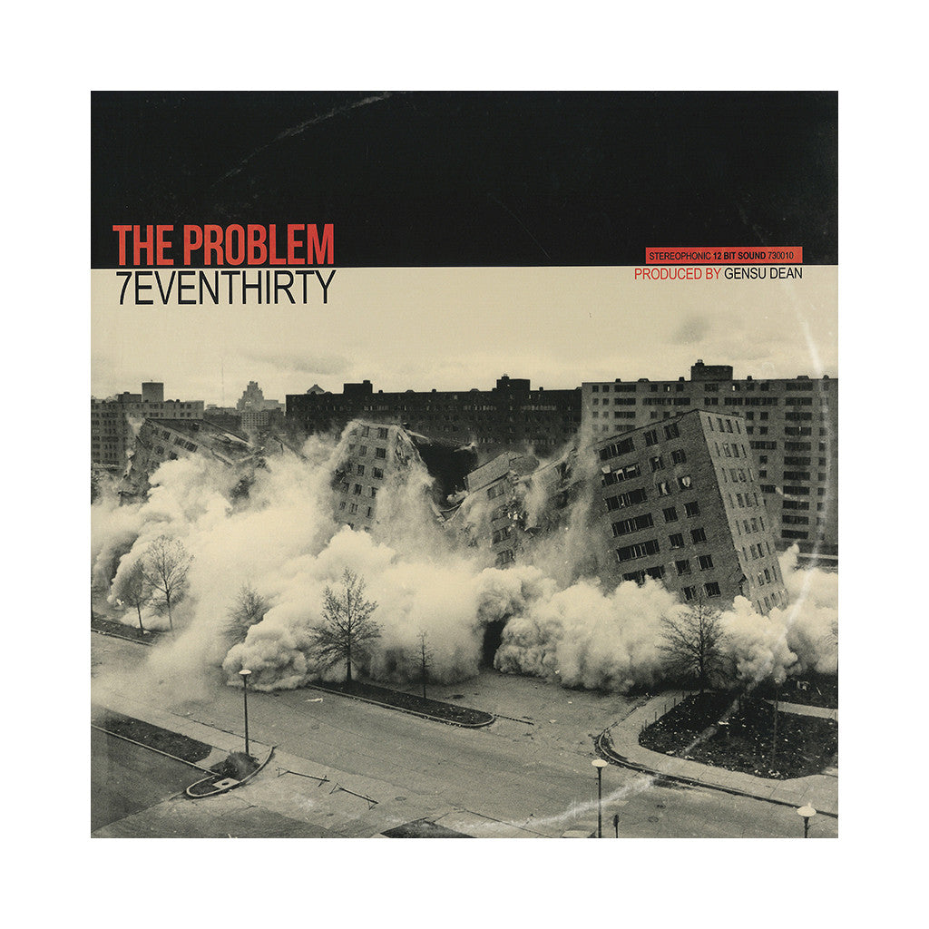 <!--2014081214-->7evenThirty - 'The Problem' [(Black) Vinyl LP]