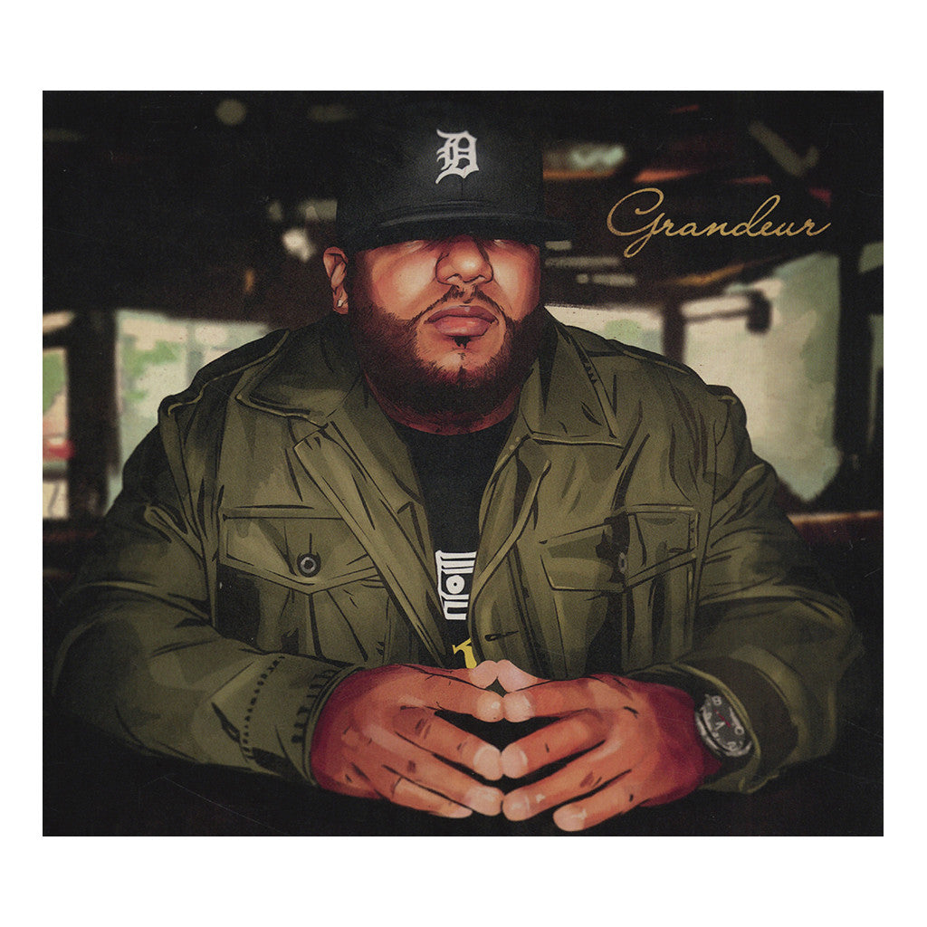 Apollo Brown - 'Grandeur' [CD]
