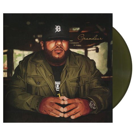 "[""Apollo Brown - 'Grandeur' [(Army Green) Vinyl [2LP]]""]"