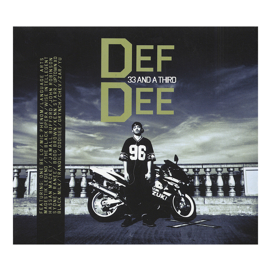 <!--2013083158-->Def Dee - 'What The World Needs' [Streaming Audio]