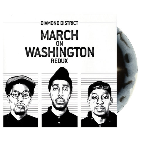 Diamond District - 'March On Washington Redux' [(Black & White Swirl) Vinyl [2LP]]
