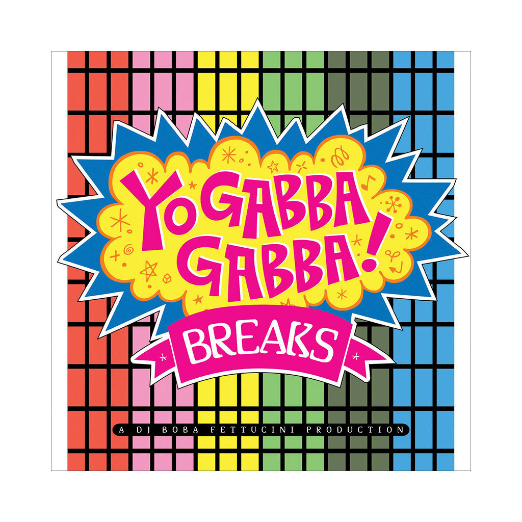 The coloring book vinyl - 020110111026713 Boba Fettucini Presents Yo Gabba Gabba