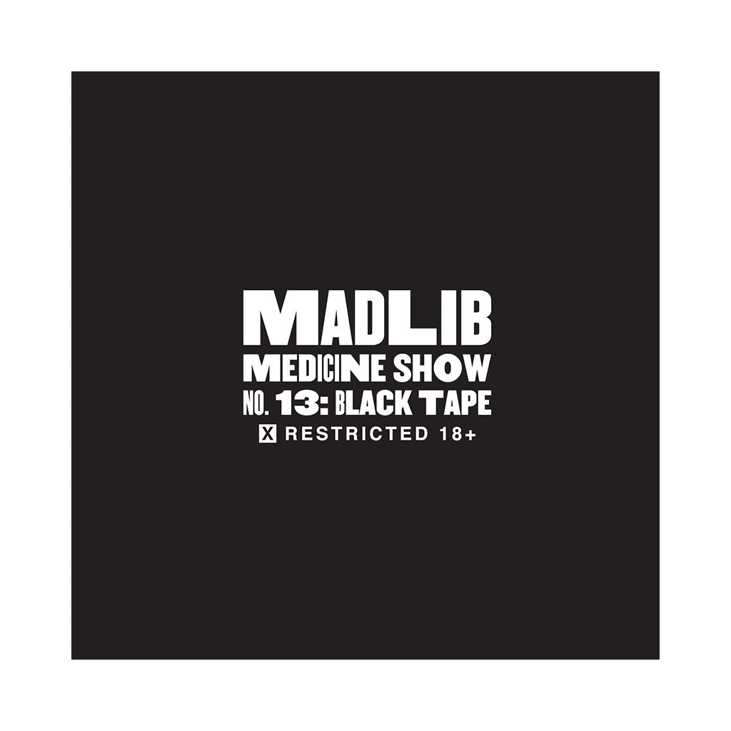 <!--120120228041109-->Madlib - 'Medicine Show No. 13: Black Tape' [CD]