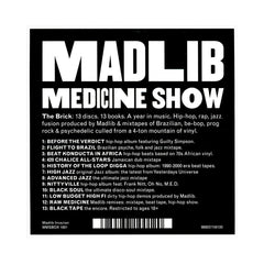 <!--2012041045-->Madlib - 'Medicine Show No. 01 -13: The Brick' [CD [13CD]]