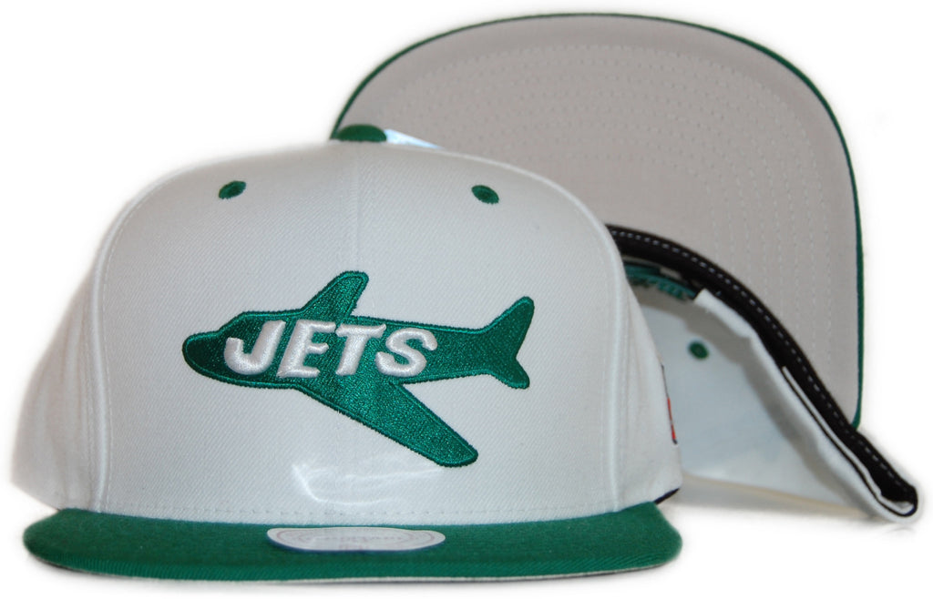 e322fa43d Mitchell   Ness x NFL - New York Jets  Throwback NFL Logo