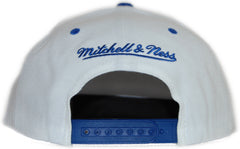<!--020111213039042-->Mitchell & Ness x NFL - 'New York Giants: Throwback NFL Logo' [(White) Snap Back Hat]