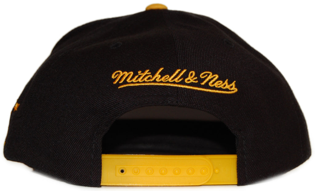<!--020111213039040-->Mitchell & Ness x NHL - 'Boston Bruins: Vintage NHL Logo' [(Black) Snap Back Hat]