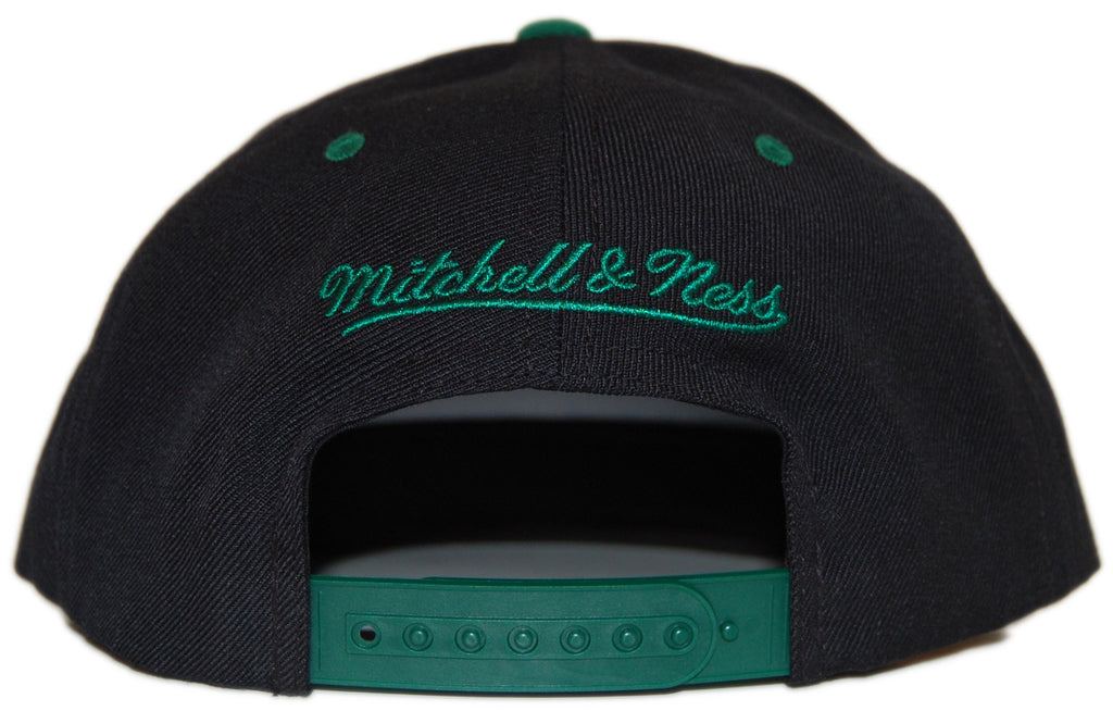 <!--020120612046000-->Mitchell & Ness x NFL - 'New York Jets: NFL Reverse Color Arch with Logo' [(Black) Snap Back Hat]
