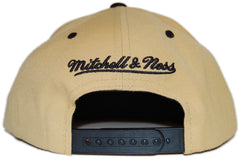 <!--020120612046001-->Mitchell & Ness x NFL - 'New Orleans Saints: NFL Reverse Color Arch with Logo' [(Gold) Snap Back Hat]