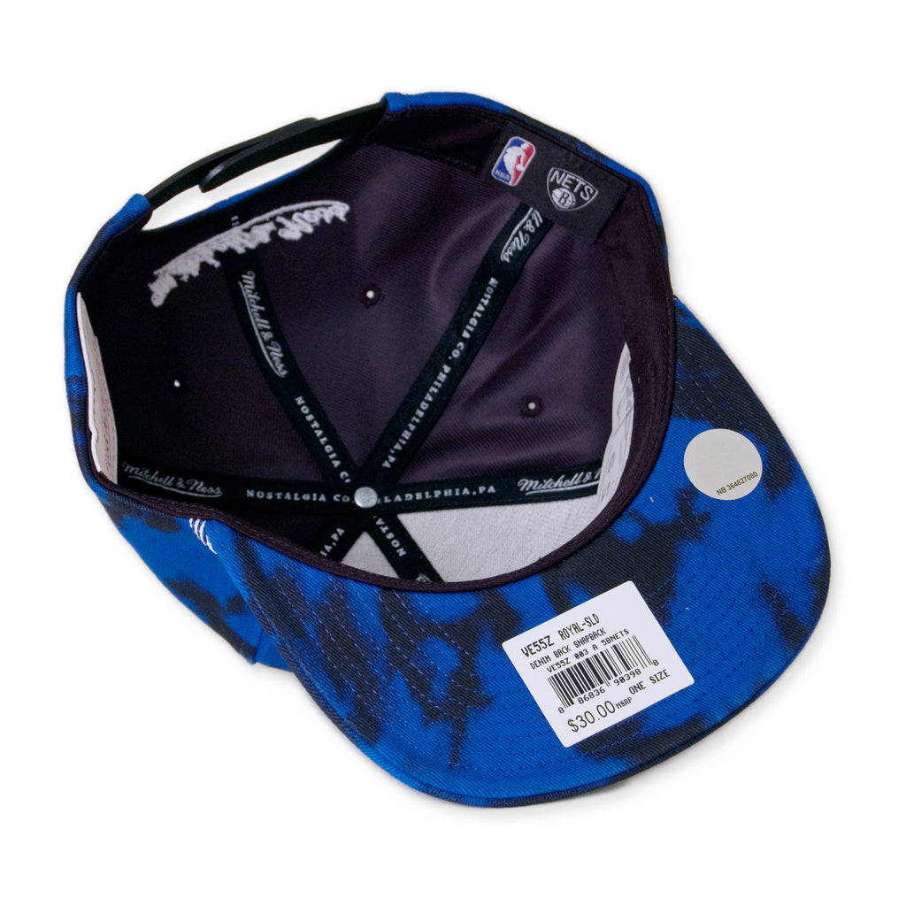 <!--020141009066239-->Mitchell & Ness x NBA - 'Brooklyn Nets - Denimback 2-Tone' [(Blue) Snap Back Hat]