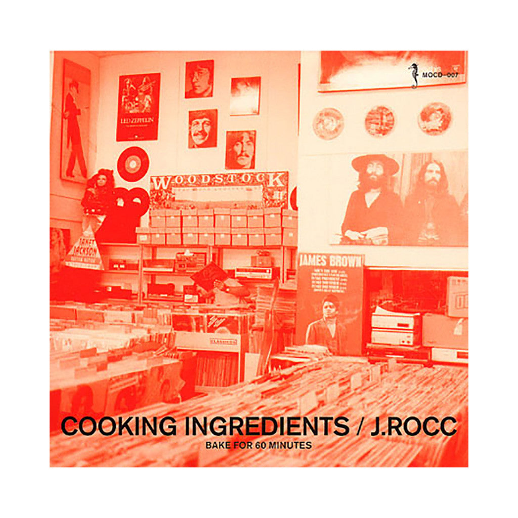 J. Rocc - 'Cooking Ingredients' [CD]
