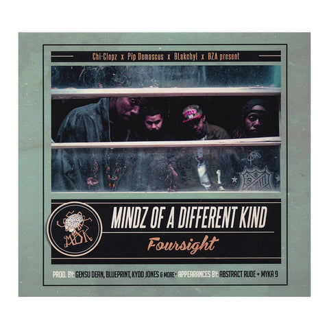 "[""Mindz Of A Different Kind - 'Foursight' [CD]""]"
