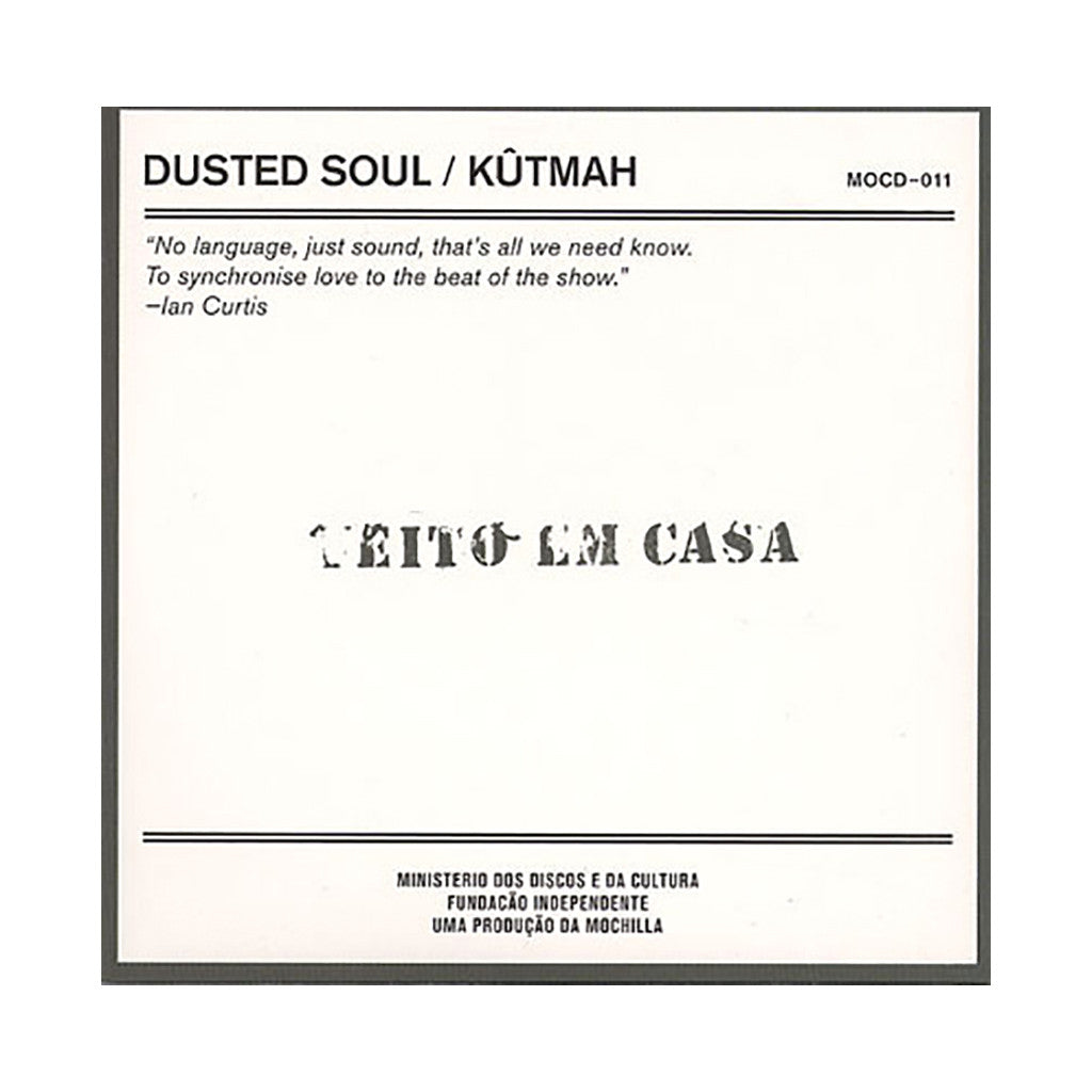 Kutmah - 'Dusted Soul: Excursions In Dirty Beats' [CD]