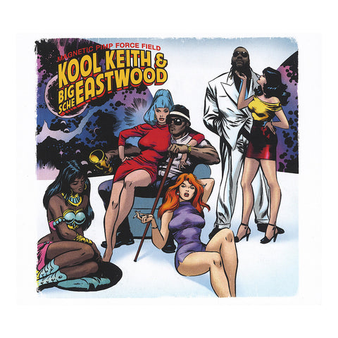 Kool Keith & Big Sche Eastwood - 'Magnetic Pimp Force Field' [CD]