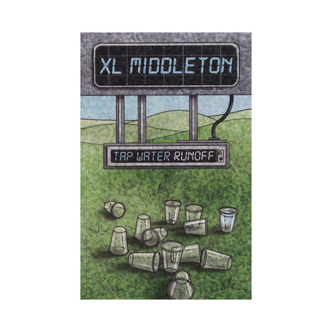 "[""XL Middleton - 'Tap Water Runoff' [(Clear Green) Cassette Tape]""]"
