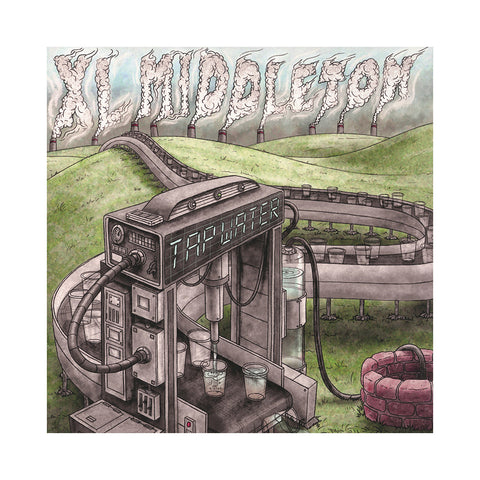 "[""XL Middleton - 'Tap Water' [(Blue) Vinyl LP]""]"