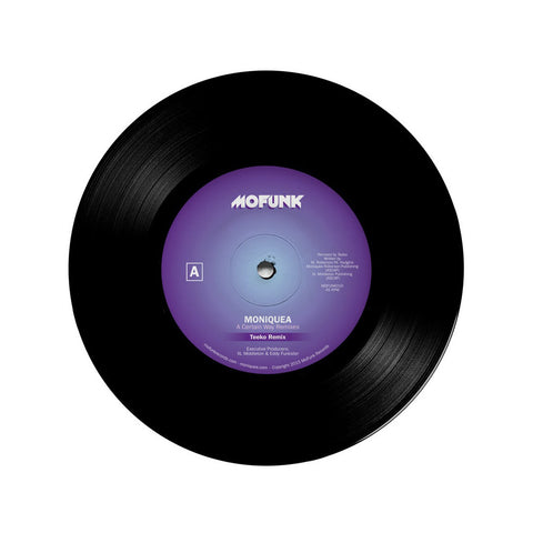 "Moniquea - 'A Certain Way (Teeko Remix)/ A Certain Way (XL Middleton + Eddy Funkster Remix)' [(Black) 7"" Vinyl Single]"
