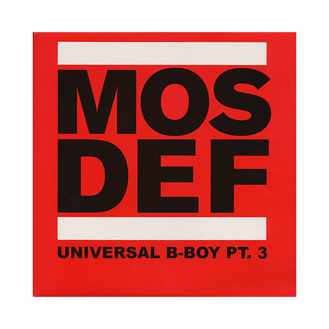 Mos Def - 'Universal B-Boy Vol. 3' [(Black) Vinyl [2LP]]