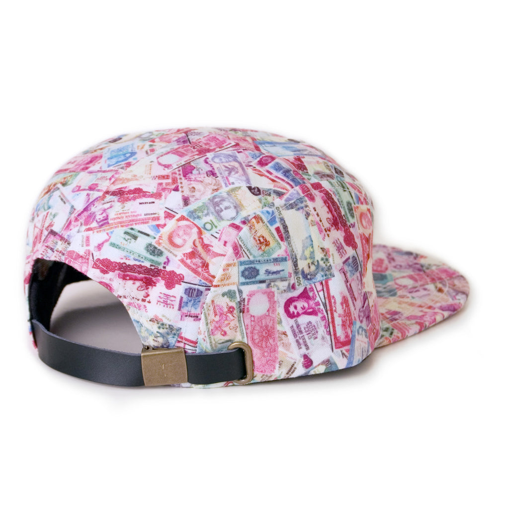 <!--020141021066580-->Moss - 'Currency' [(Multi-Color) Five Panel Camper Hat]