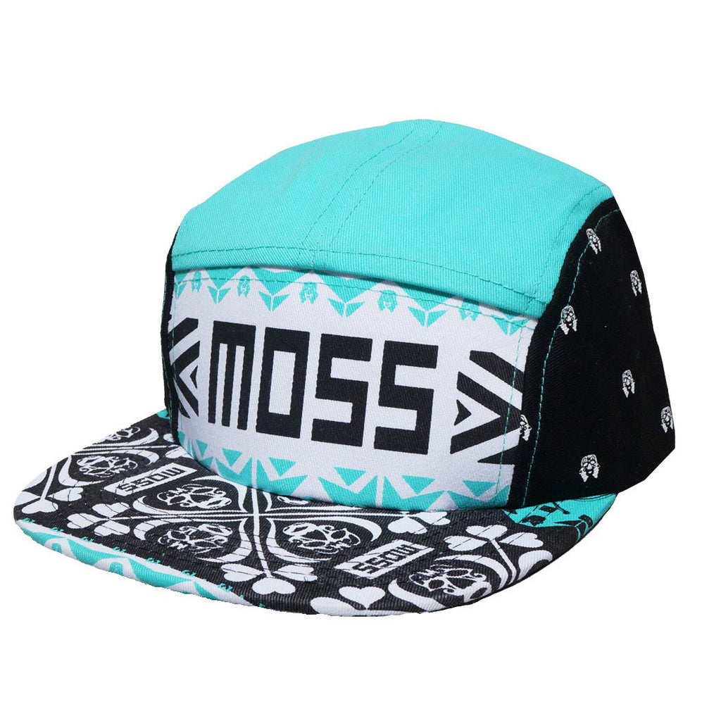 <!--020140430063583-->Moss - 'Snow Globe' [(Multi-Color) Five Panel Camper Hat]