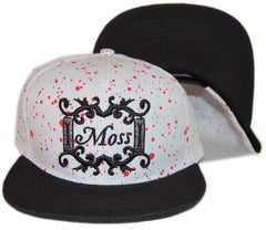 <!--020130716058226-->Moss - 'Angel Dust' [(White) Snap Back Hat]