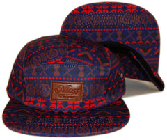<!--020130716058229-->Moss - 'Moztec' [(Dark Blue) Five Panel Camper Hat]