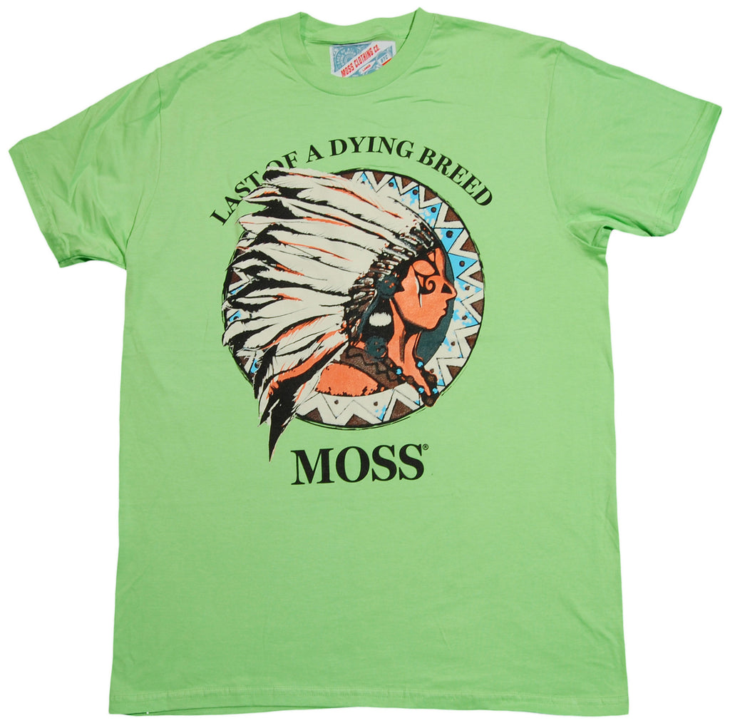 <!--2013010817-->Moss - 'American Spirit' [(Light Green) T-Shirt]