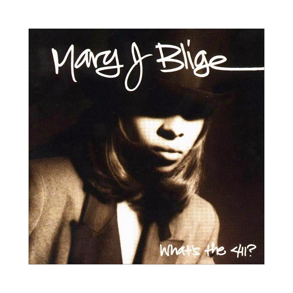Mary J. Blige - 'What's The 411?' [(Black) Vinyl [2LP]]