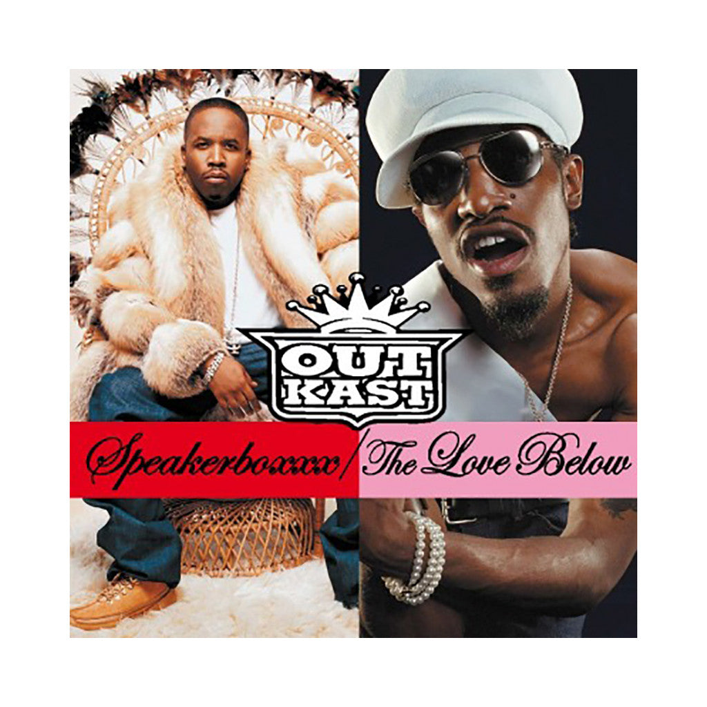 <!--020100629001802-->OutKast - 'Speakerboxxx/ The Love Below (Import)' [(Black) Vinyl [4LP]]
