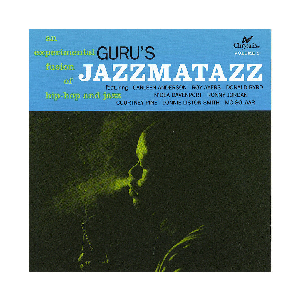 <!--120100608003212-->Guru - 'Jazzmatazz Vol. 1' [(Black) Vinyl LP]