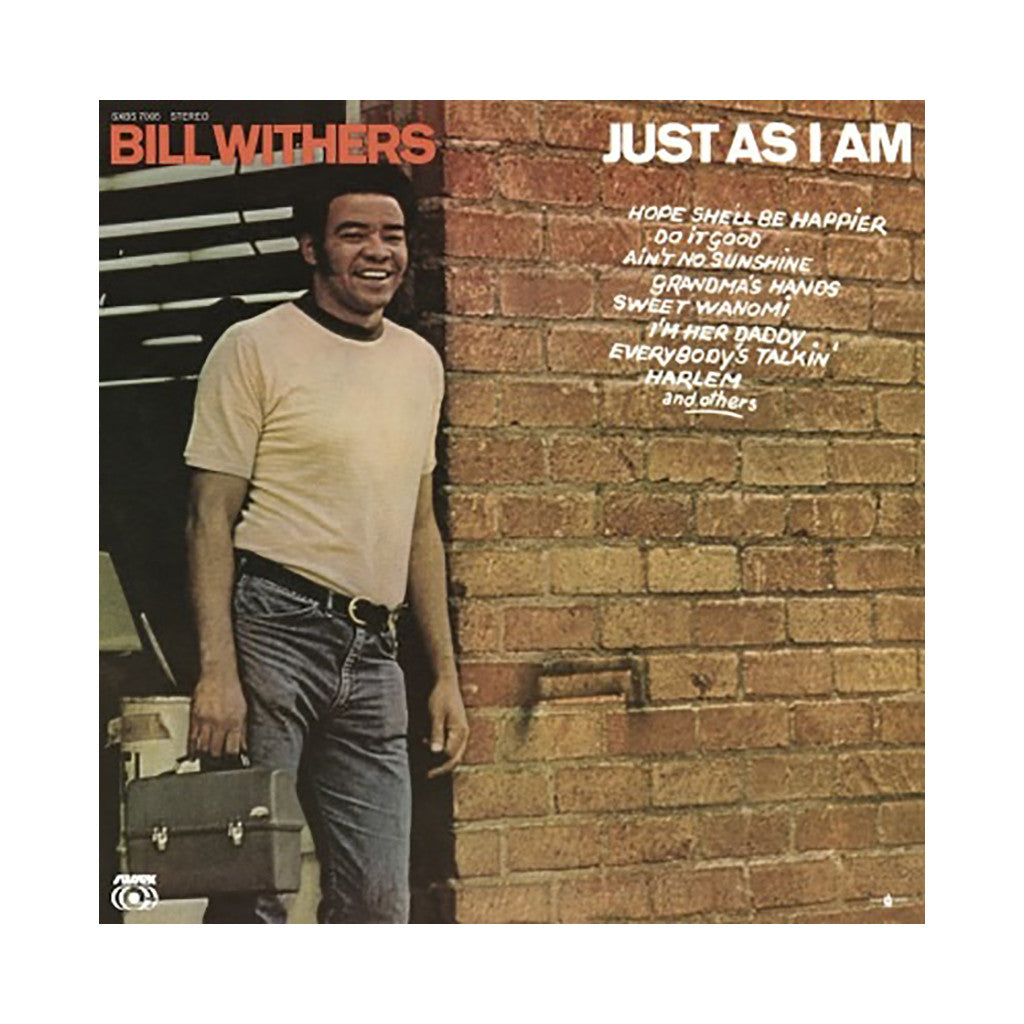 <!--120120207004517-->Bill Withers - 'Just As I Am' [(Black) Vinyl LP]