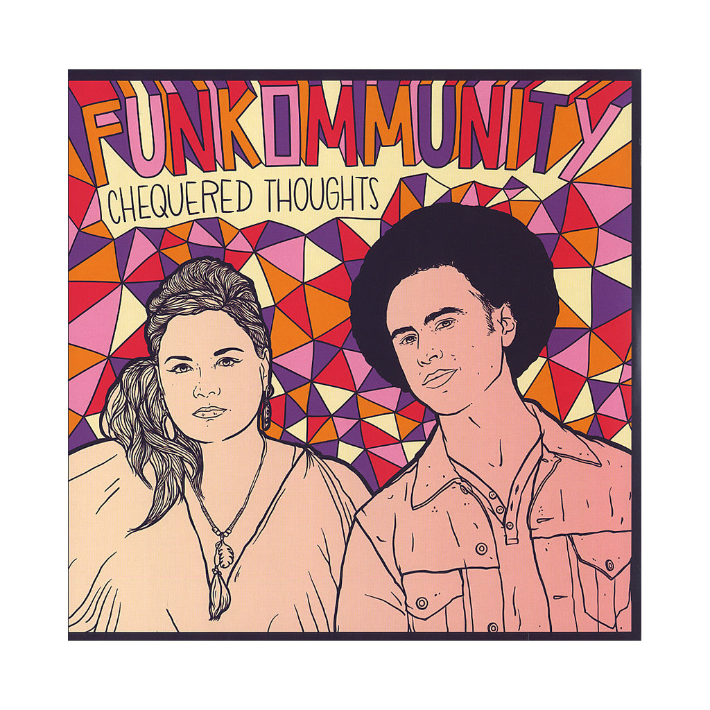 <!--2012082831-->Funkommunity - 'Chequered Thoughts' [(Black) Vinyl LP]