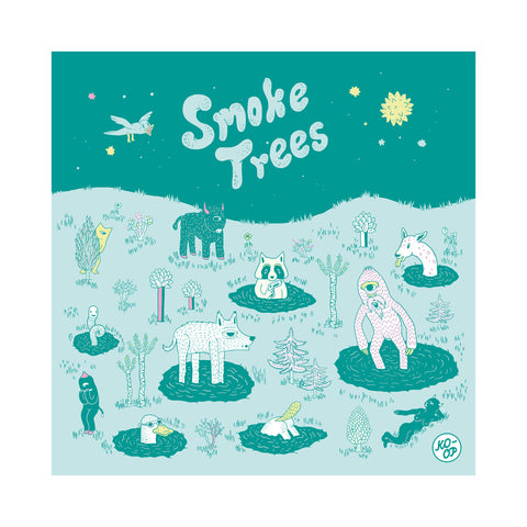"[""Juan RIOS & Smoke Trees - 'KO-OP 1' [(Black) Vinyl LP]""]"