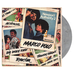 <!--020130625056459-->Marco Polo - 'Newport Authority 2' [(Smoke Gray) Vinyl [2LP]]