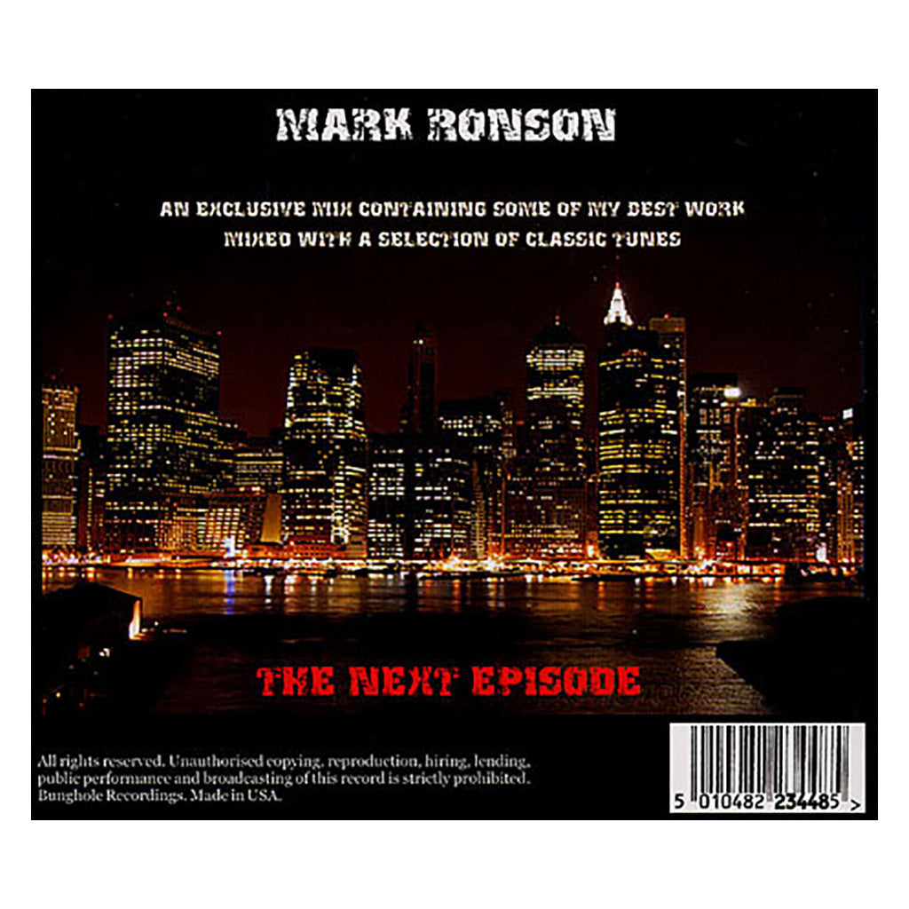 <!--019000101016076-->Mark Ronson - 'The Next Episode' [CD]