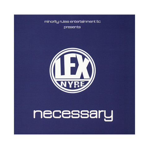 "LEX - 'Necessary EP' [(Mystery) 7"" Vinyl Single]"