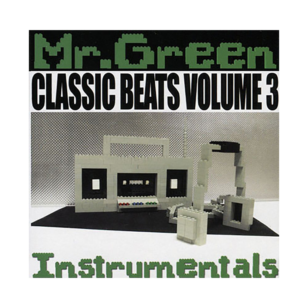 Mr green classic beats vol 3 cd producer cover art for Classic house mastercuts vol 3