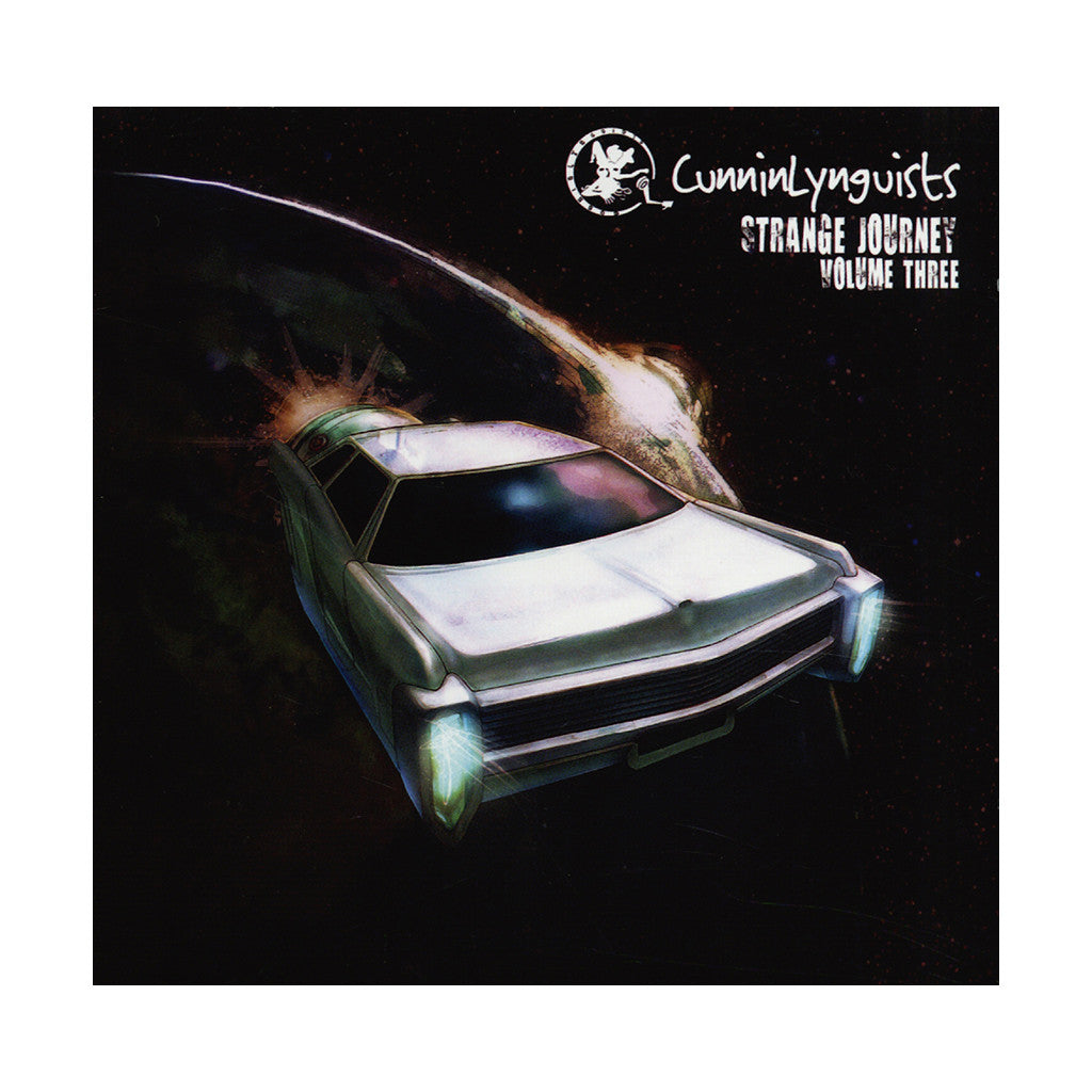 <!--120140401062379-->CunninLynguists - 'Strange Journey Vol. 3' [CD]