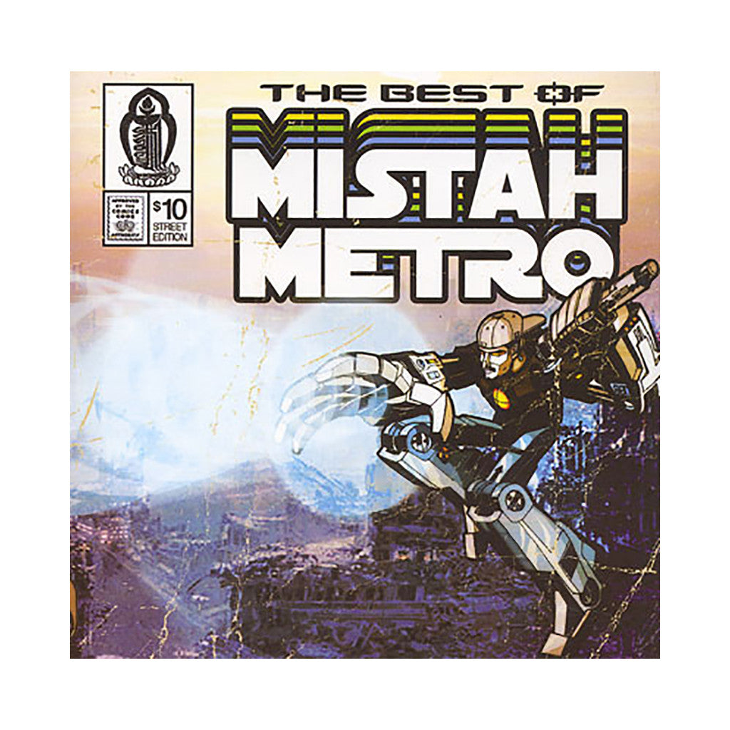 Mistah Metro - 'The Best Of Mistah Metro' [CD]
