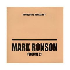 Mark Ronson - 'Produced & Remixed By Vol. 2' [(Black) Vinyl [2LP]]