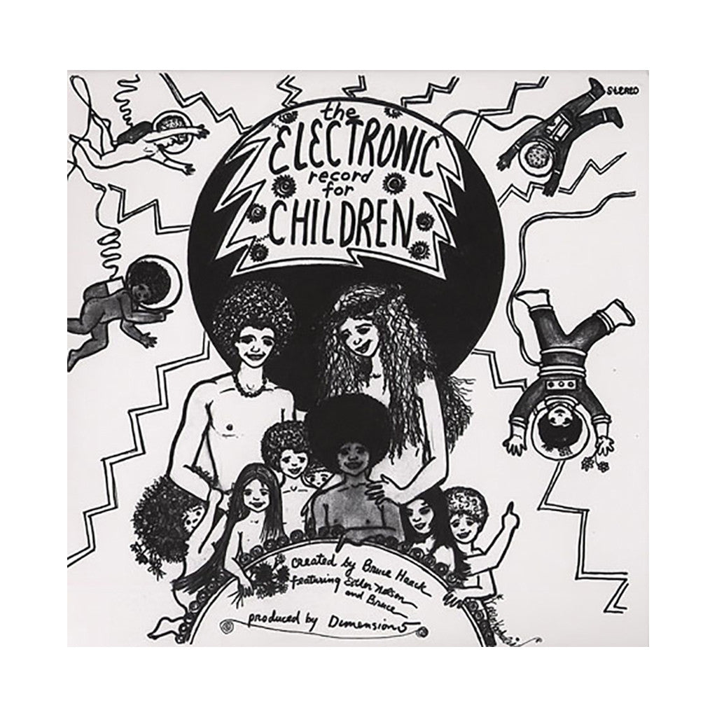 Bruce Haack & Miss Nelson - 'The Electronic Record For Children' [(Black) Vinyl LP]