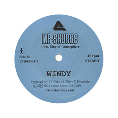"Mr. Skurge - 'Joe Fetter/ Windy' [(Black) 7"" Vinyl Single]"