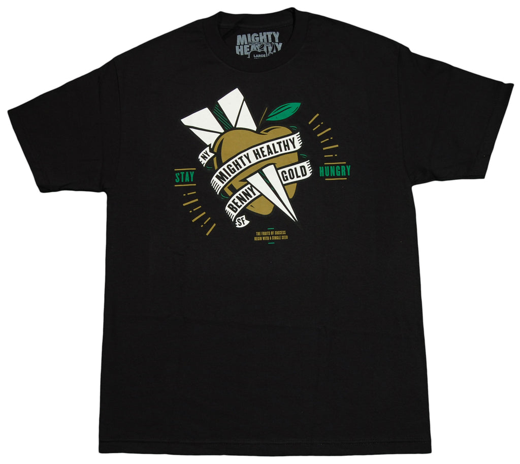 <!--2012061916-->Mighty Healthy x Benny Gold - 'Stay Hungry' [(Black) T-Shirt]