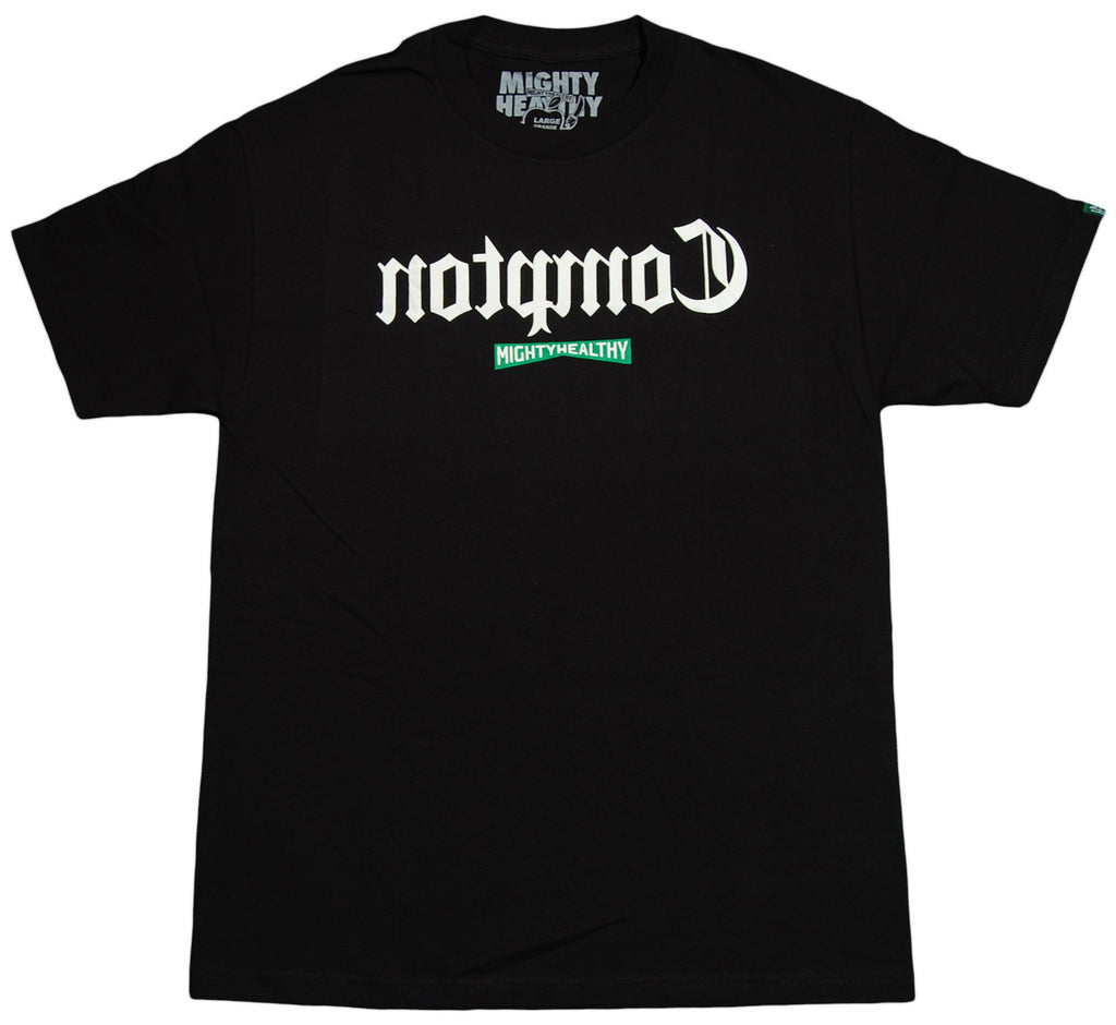 <!--2012121831-->Mighty Healthy - 'Compton' [(Black) T-Shirt]