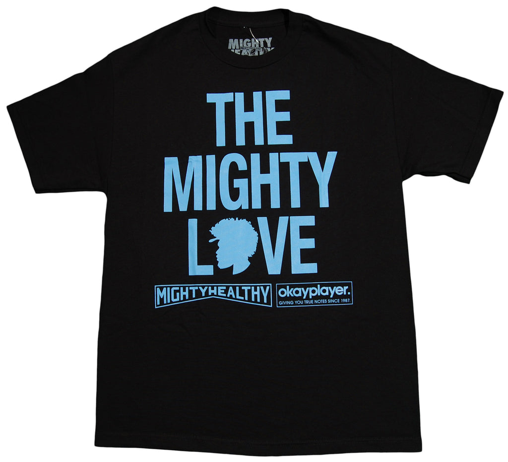 <!--2012121833-->Mighty Healthy x Questlove - 'Questlove' [(Black) T-Shirt]